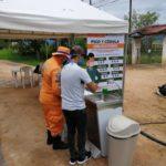Con Lavamanos portátiles se intensifican controles en todas las entradas a Pitalito