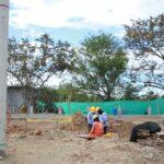 Electrohuila construye subestación eléctrica en el Juncal.